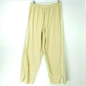 Nike Mens Size 4XL Activewear Pants Check Zippers